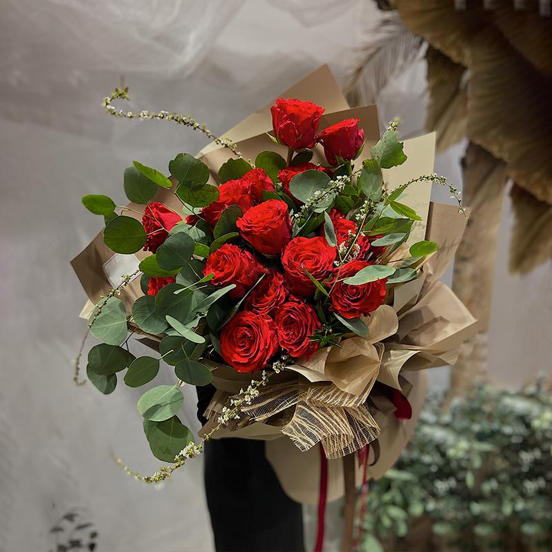 520情人节鲜花店都有什么花