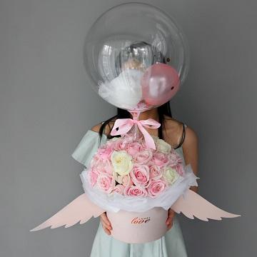 甜心守护-抖音网红气球翅膀抱抱桶