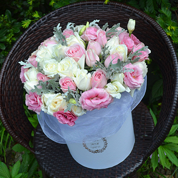 花店做好的成品9朵玫瑰花一般多少钱一束呢