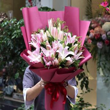 2019年天津鲜花店的百合花多少钱一朵呢?