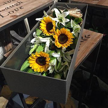 向日葵花盒