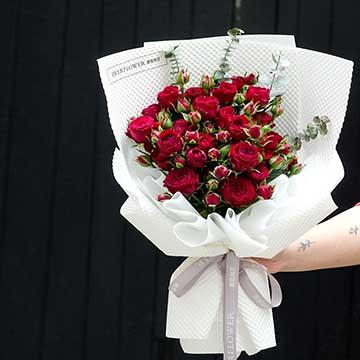 广州情人节买花哪家花店可以送花上门?