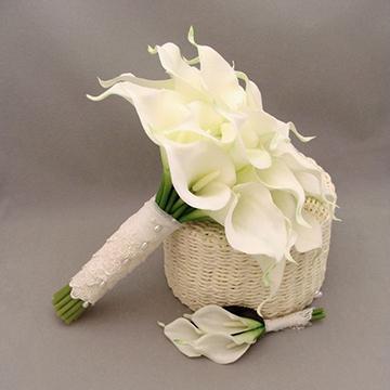 白色马蹄莲花