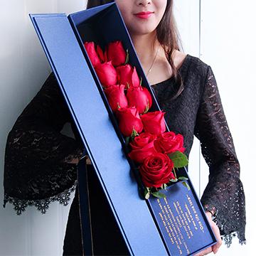 红玫瑰11支