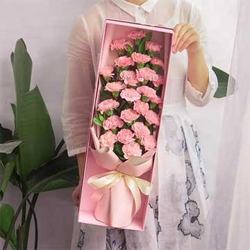 康乃馨花盒