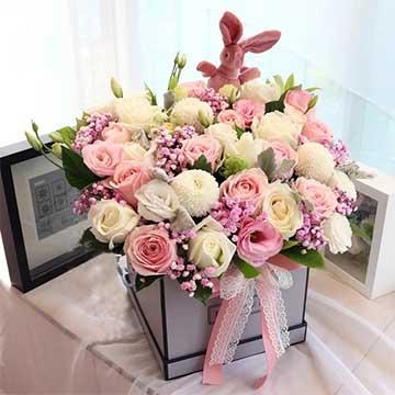为什么送女朋友鲜花33朵比较好呢?