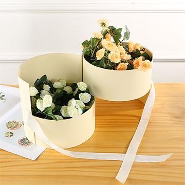 香槟玫瑰双层花盒