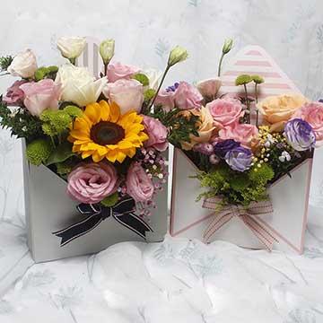 给50岁左右的女性长辈过生日送什么花?