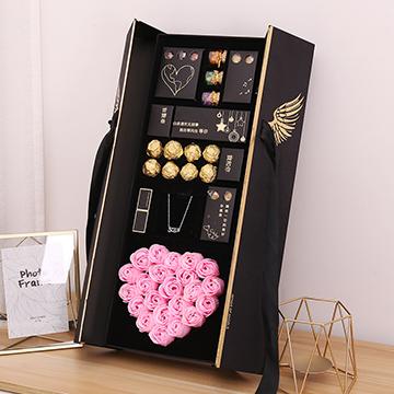 巧克力花盒