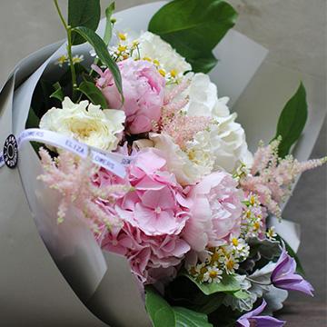 牡丹花花束