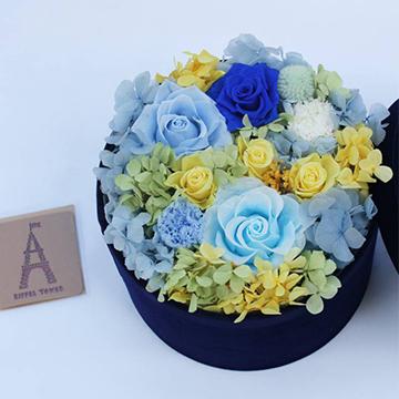 蓝玫瑰永生花