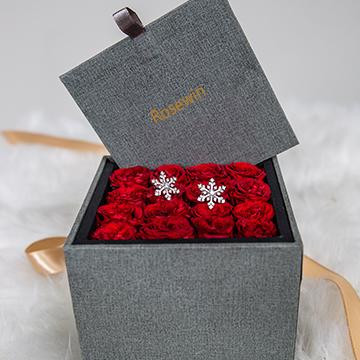 16朵红玫瑰图片