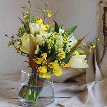 郁金香瓶花