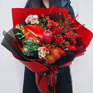红掌花图片