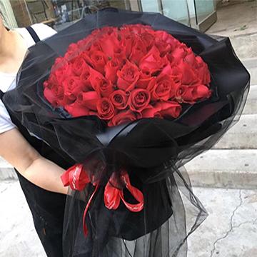 99朵红玫瑰花