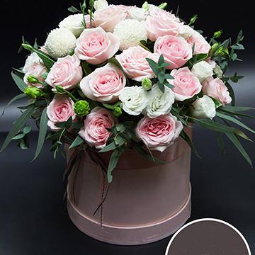 19朵粉玫瑰花
