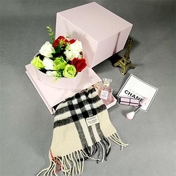 圣诞鲜花礼盒