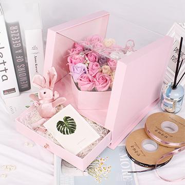 21朵粉玫瑰