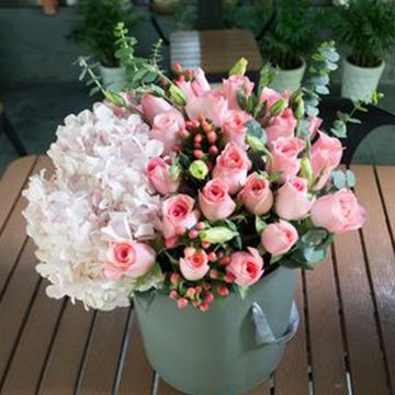 29朵粉玫瑰