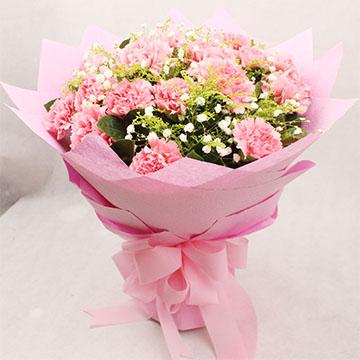 16朵康乃馨
