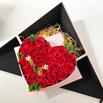 21朵红玫瑰
