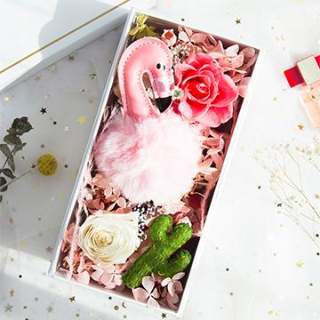 圣诞节花盒