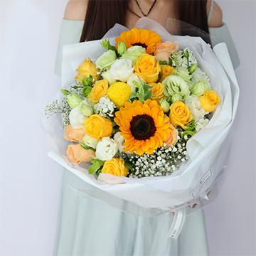 向日葵可以表白的时候送吗