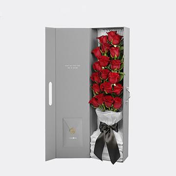情人节送女朋友什么颜色的玫瑰花好呢