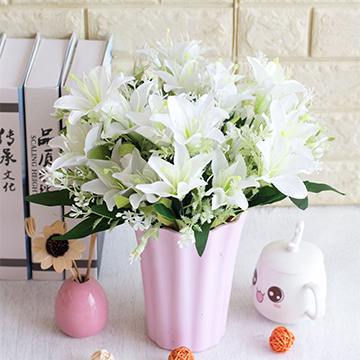11朵百合花