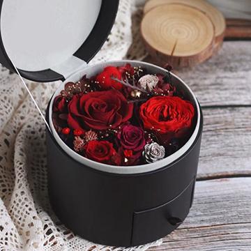 红玫瑰永生花