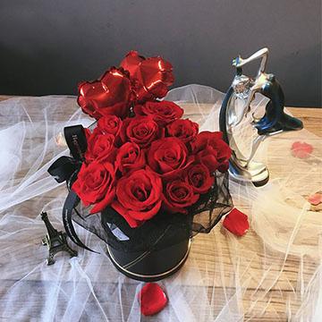 29朵红玫瑰