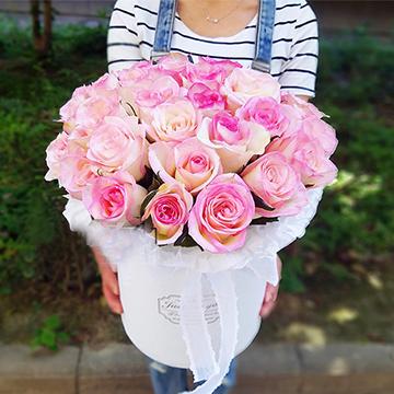 33朵粉玫瑰