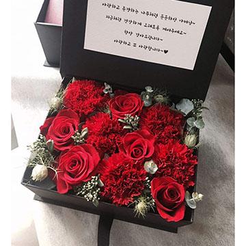 5朵红玫瑰