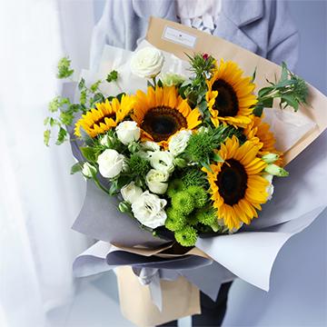 6朵向日葵