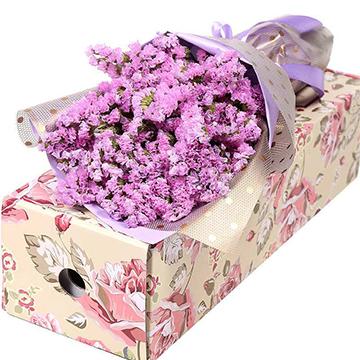 薰衣草花盒