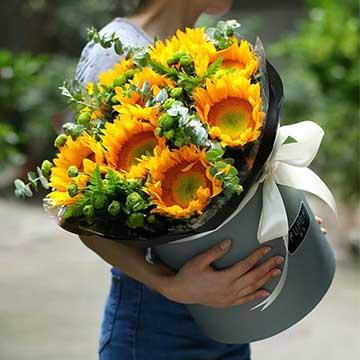 9朵向日葵