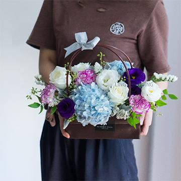 绣球花花盒
