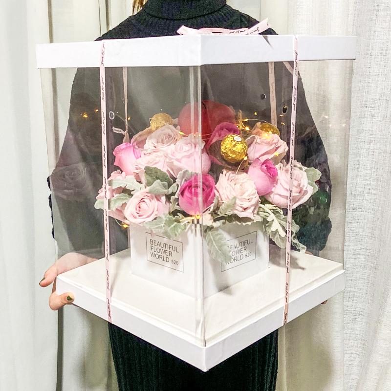 圣诞节给女朋友送什么花会让她开心?