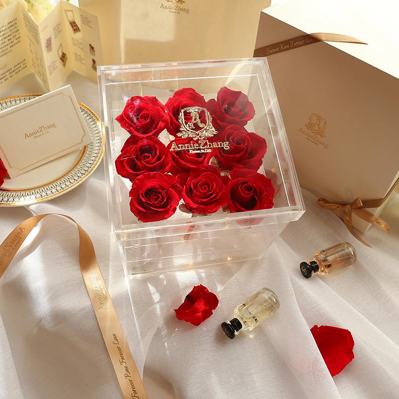 214情人节送礼物,永生花让女友乐开花!