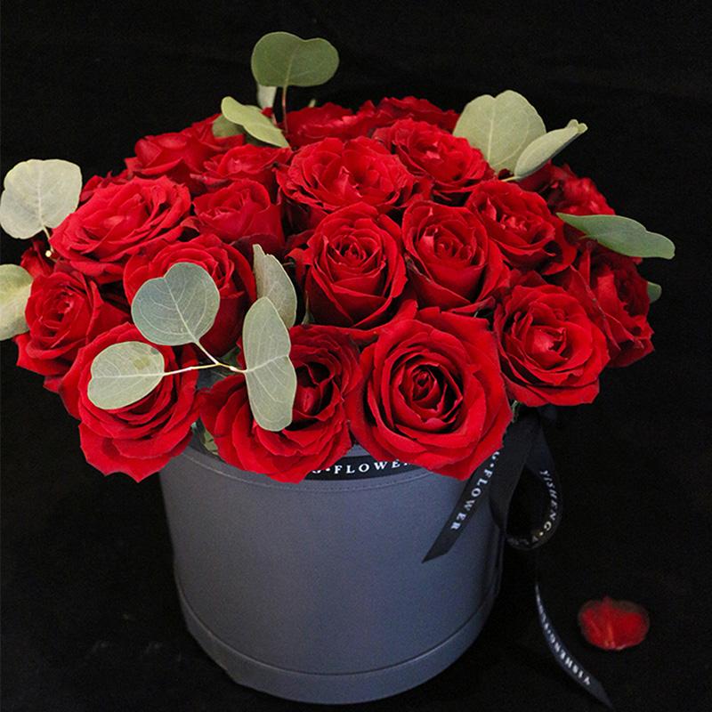 心动满分的情人节花束,让情人节甜上加甜