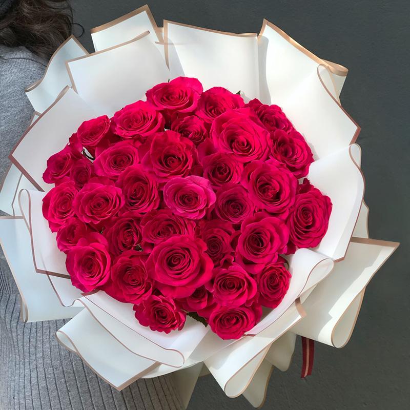 520送老婆33朵玫瑰代表什么?