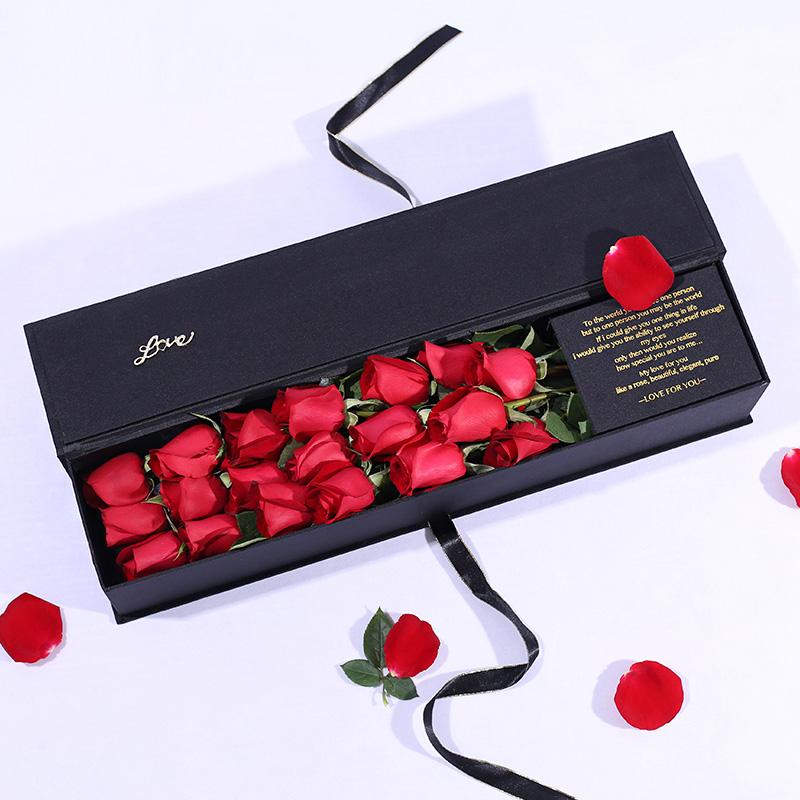 醉相思-19朵红玫瑰 吉林花店有网上订花的app吗?结婚两周年*新送花攻略让你不再愁