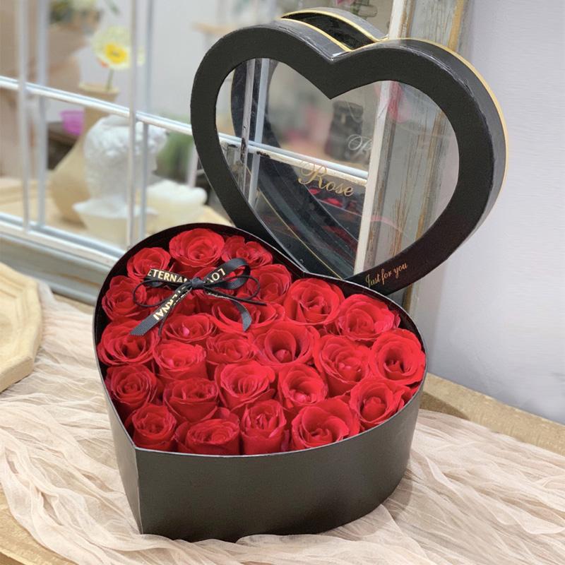 热恋-33朵红玫瑰礼盒装