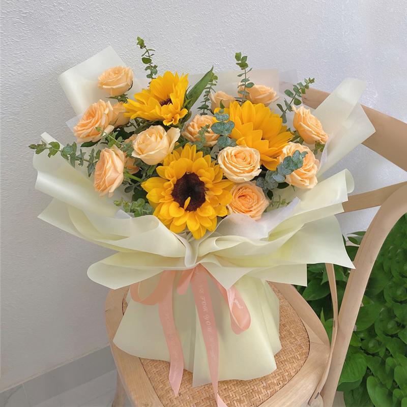 大理鲜花预订去哪个平台?代表好运的有哪些鲜花