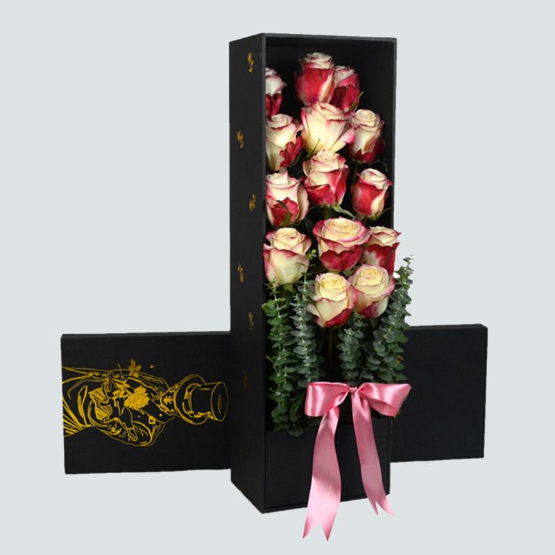 爱情印记-14朵进口厄瓜多尔甜心玫瑰 东莞网上订花哪家花店好?不同关系的人生日送鲜花的讲究