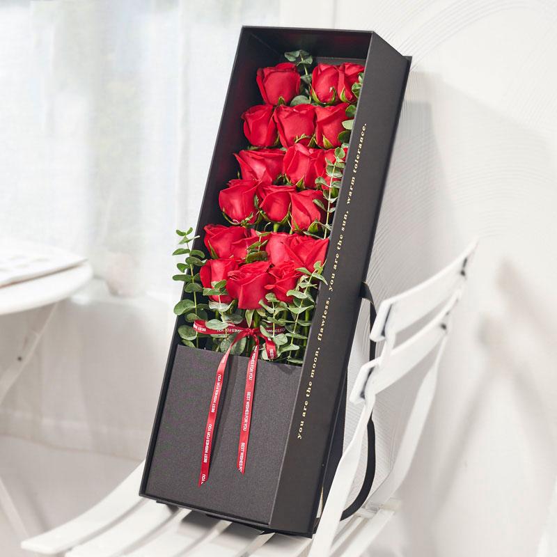 爱的勇气-19朵红玫瑰