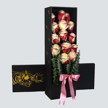 爱情印记-14朵进口厄瓜多尔甜心玫瑰