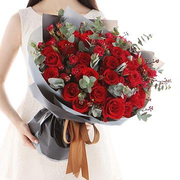 为你停留-33朵红玫瑰