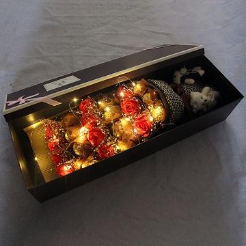 见证幸福-巧克力+鲜花礼盒