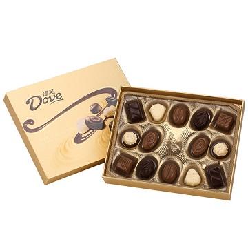 美妙呈现-德芙多种口味巧克力礼盒